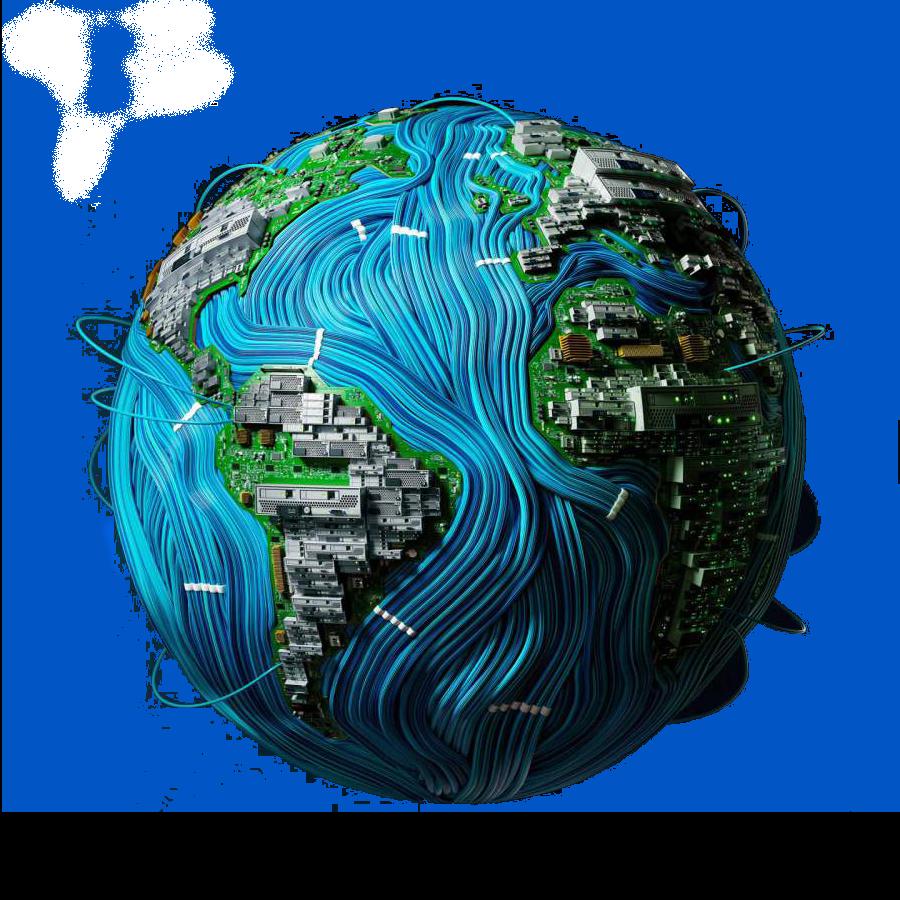 Digital-Earth-iPhone-Wallpaper